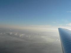 So. morgen, 2500ft kurz vor Duisburg