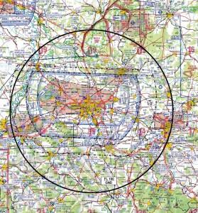 Flugbeschränkungsgebiet Hannover Quelle: Neue Presse